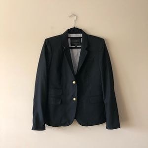 J. Crew black Schoolboy style blazer jacket